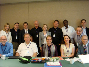 ISoP - Past and New Executive Commitee