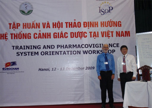 ISoP - I Boyd and K Hartigan-Go in Hanoi